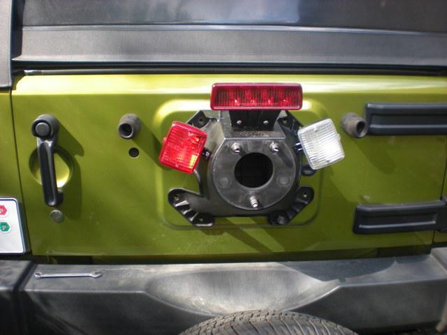 Cutting Third Brake Light Down To Size Page 2 Jk