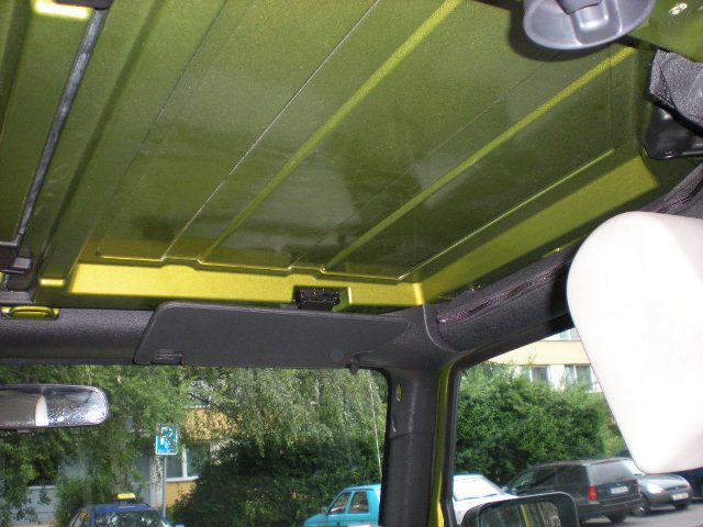 Painting The Hard Top S Interior Jk Forum Com The Top