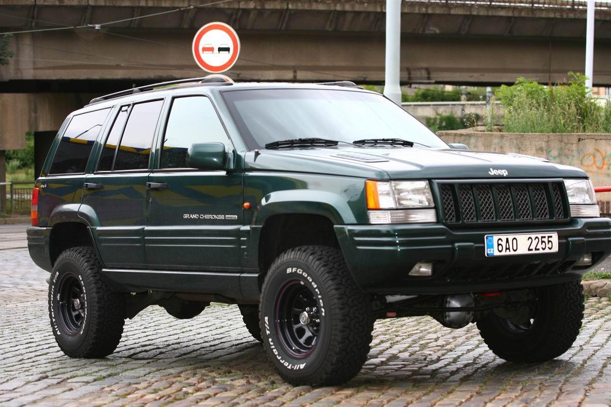 1998 Jeep Grand Cherokee 5,9 L - Jeep Grand Cherokee ZJ(ZG)Limited