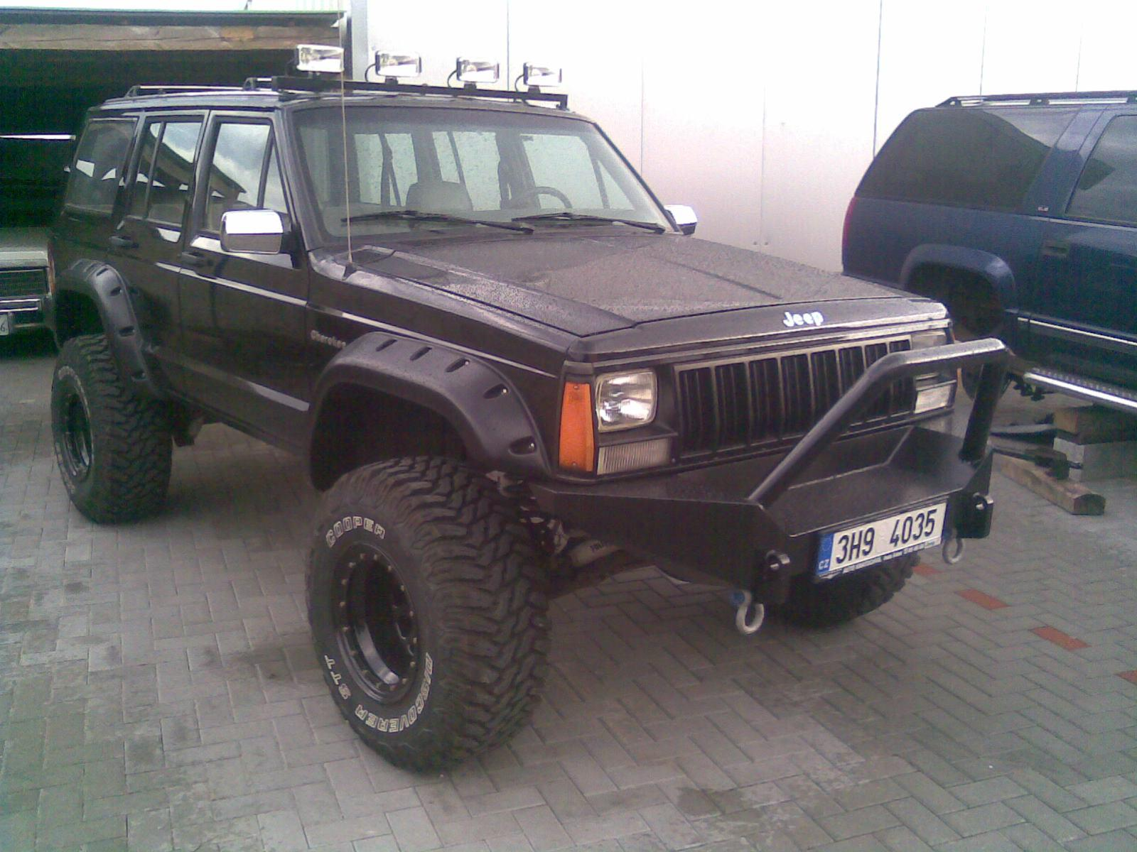 1989 Jeep Cherokee 4 0 L Long Arm Fulltraction Lift 6