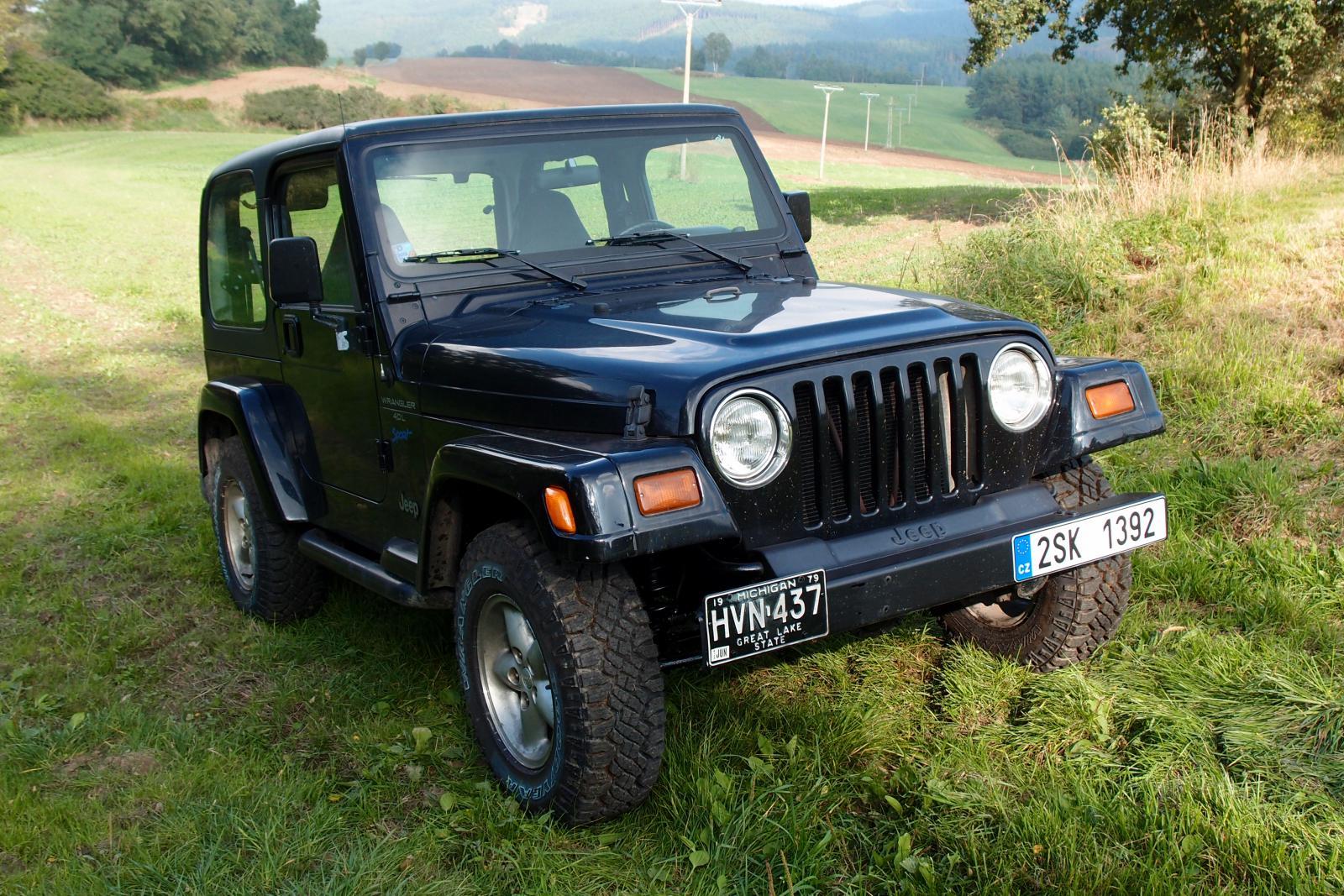1997 jeep wrangler tj 4 0 benz n 130 kw 302 nm. Black Bedroom Furniture Sets. Home Design Ideas